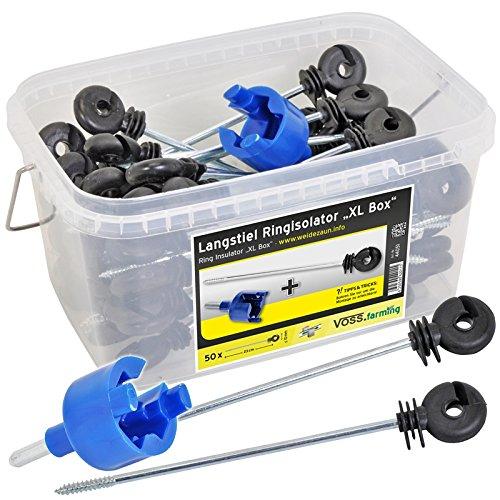 50x-isolateurs-annulaires-a-longue-tige-ecarteur-corde-cordon-fil-ruban-cloture-electrique