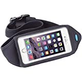 Running Belt for iPhone 6 Plus and iPhone 6S Plus with a case (Fits OtterBox Defender / Commuter Cases for iPhone 6 Plus, iPhone 6S Plus, Samsung Galaxy S6, Galaxy S5, Note 5, Note 4 and much more)