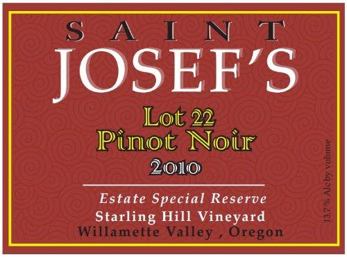 2010 St Josef'S Starling Hill Pinot Noir 750 Ml