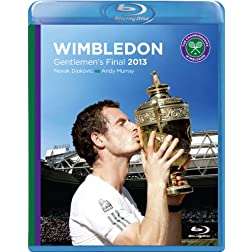Wimbledon: Official 2013 Gentlemen's Final - Novak Djokovic vs Andy Murray: The Complete Men's Final [Blu-ray]