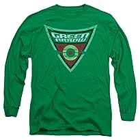 DC Green Arrow Shield Long Sleeve T-Shirt