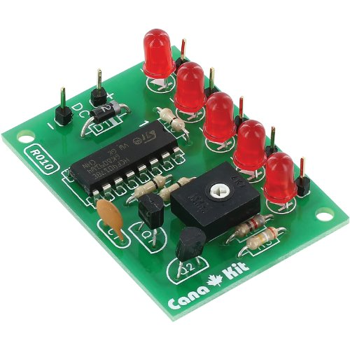 CanaKit CK010   5 Channel LED Chaser (Electronic Kit   Requires Assembly)
