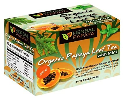 Papaya Leaf Tea Mint Flavor