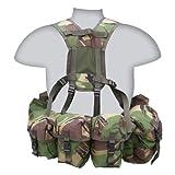 Kombat British Army Combat PLCE Full Webbing Belt Set System TA Cadets New DPM Camo