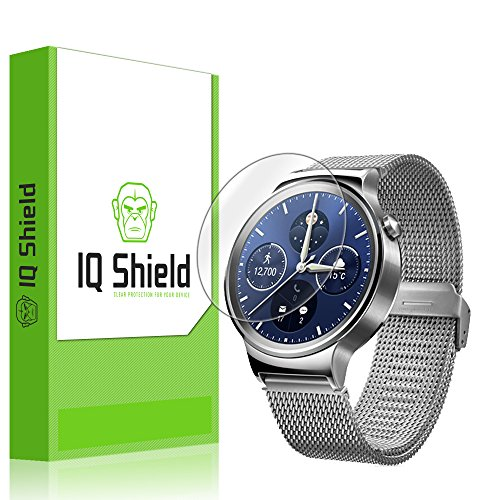 IQ Shield LiQuidSkin - Huawei Watch Screen Protector with Lifetime Replacement Warranty - High Definition (HD) Ultra Clear Smart Film - Premium Protective Screen Guard - Extremely Smooth / Self-Healing / Bubble-Free Shield - Kit comes in Frustration-