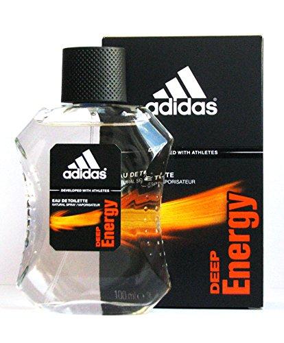 Adidas Deep Energy Eau de Toilette Spray Per Lui 100ml