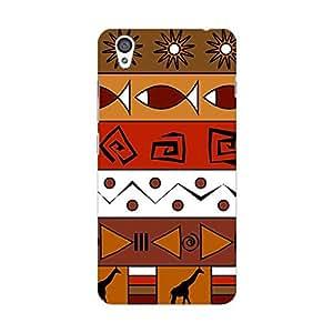 Garmor Designer Plastic Back Cover For OnePlus X