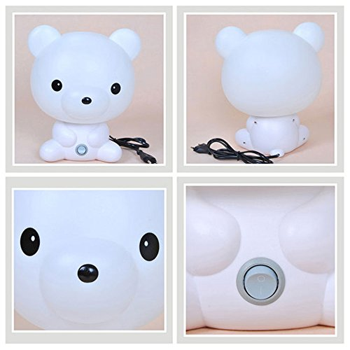 1 Pcs Toddler and Baby Cartoon Animal Night Light,Decor Hut Childrens Nightlight Soother Nursery Night Lamp For Helping Your Baby Fall Asleep Faster