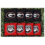 Georgia Bulldogs Replacement Cornhole Bag Set (corn-filled)