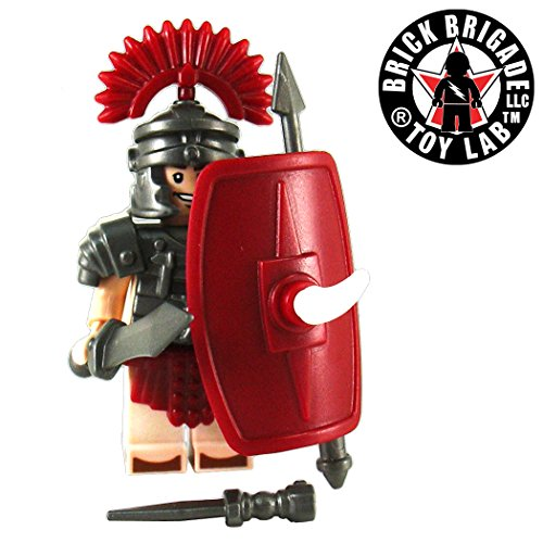 Brick-Brigade-Custom-LEGO-Pack-Make-A-Roman-Legionnaire-No-Minifig-Included
