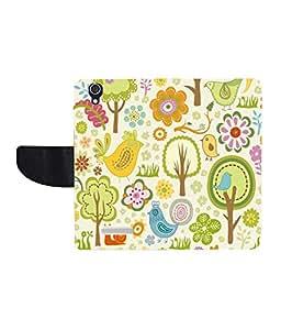 KolorEdge Printed Flip Cover For Micromax YU Yureka - Multicolor(KeMLogo5915MmxYureka)