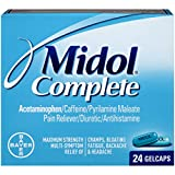 Midol Complete Gelcaps, 24-Count Box