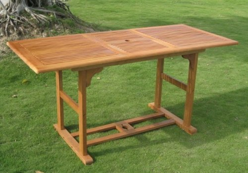 International Caravan Royal Tahiti Balau Dining Table photo