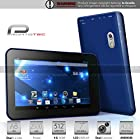 ProntoTec 7 Inch Capacitive Touch Screen Tablet Pc,Dual Core 1.2 Ghz, Android 4.2, 4gb, Ddr3 512mb Ram, Dual Camera, Wi-Fi, G-sensor (Navy)