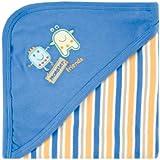 Hudson Baby Little Monsters Hooded Receiving Blanket