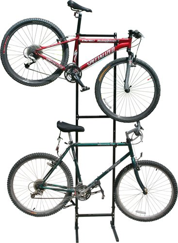 Images for Free Standing Vertical Bicycle Storage Rack for 1-2 Bikes