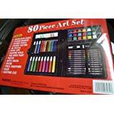 Art 101 Kids Artist Kit 80 Pieces With Art 101 Learning Guide 1010HEN1
