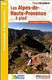 Les Alpes-de-Haute-Provence à pied : 36 promenades & randonnées