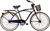 Huffy 26-Inch Men's Cruiser Deluxe Bike (Blue)