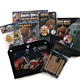 Angry Birds Star Wars Back To School Supplies 6 Piece Bundle With Pencil Case Composition Notebook Mechanical Pencils Erasers Folders
