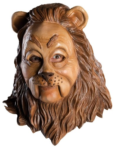 Wizard Of Oz Latex Mask, Cowardly Lion