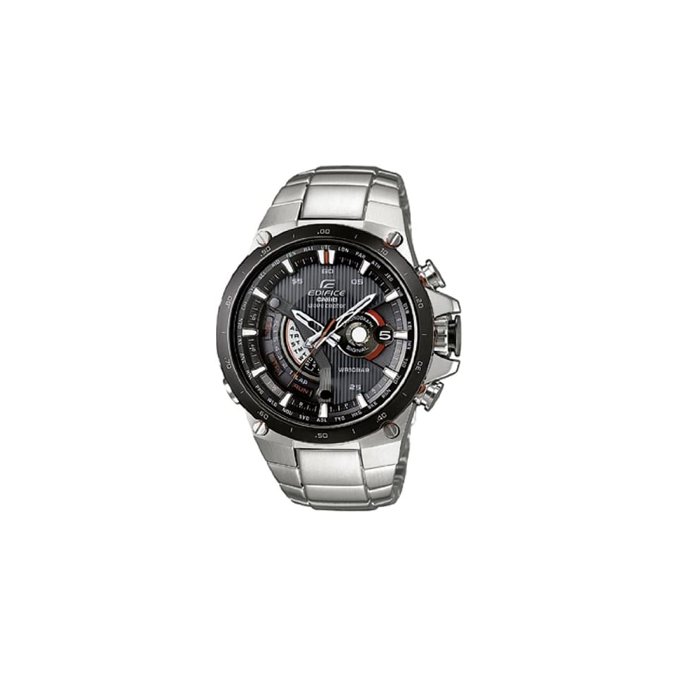 casio edifice funk solar herren uhr silber eqw a1000db. Black Bedroom Furniture Sets. Home Design Ideas