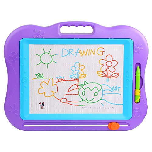 TONOR Magnetic Colorful Erasable Baby/Kids Skill Development Drawing Board Blackboard