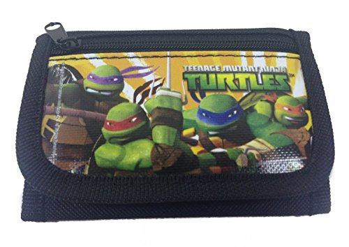 Ninja Turtles Black Trifold Wallet - 1