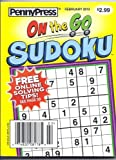Penny Press On The Go Sudoku Magazine Issue 36 (February 2013)