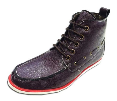 24 Casuals Men Boot Porsche Cherry Size 6