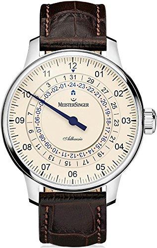 MeisterSinger reloj hombres automática Adhaesio AD903
