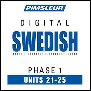 Swedish Phase 1, Unit 21-25 Audiobook