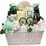 Art of Appreciation Gift Baskets Jasmine Renewal Spa Bath and Body Gift Set, Large