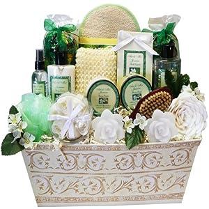 Art of Appreciation Gift Baskets   Large Jasmine Renewal Spa Bath and Body Set