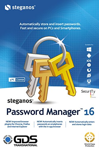 Steganos Password Manager 16.1.0 Revision 11225 2016 51lGvoLVSYL.jpg