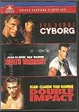 Van Damme Triple Feature - Cyborg / Death Warrant / Double Impact