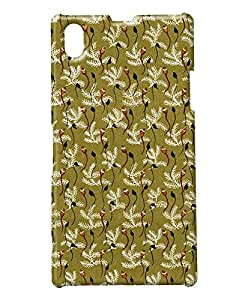 Pickpattern Back cover for Sony Xperia Z1