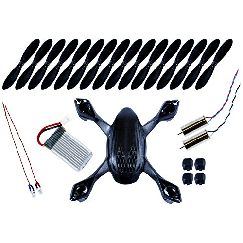Hubsan X4 H107D FPV Quadcopter Crash Pack - BLACK
