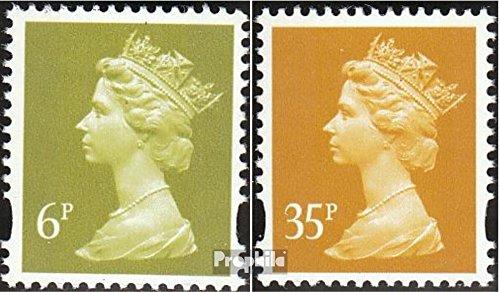 Großbritannien 1355CS,1360CS Sicherheitszähnung postfrisch 1991 Elisabeth II. (Briefmarken für Sammler)
