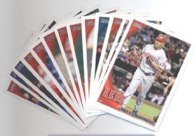 2010 Topps Baseball Cards Cincinnati Reds Team Set Update (Series 3) -13 Cards including Brandon Phillips, Joey Votto, Scott Rolen, Jordan Smith Rookie Card, Sam LeCure Rookie Card, Travis Wood Rookie Card, Chris Heisey Rookie Card & more!