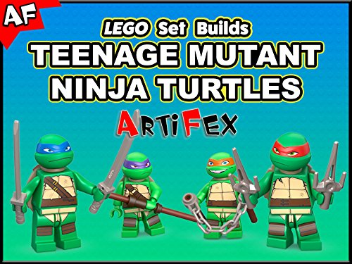 Clip: Lego Set Builds Teenage Mutant Ninja Turtles - Season 1