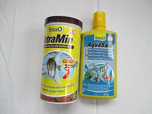 tetra-bestseller-bundle-500ml-tetra-aqua-safe-water-conditioner-tetra-tetramin-tropical-flakes-200g