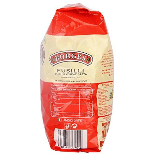 Borges Fusilli Durum Wheat Pasta, 500g