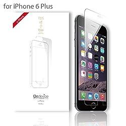 Apple iPhone 6 Plus (5.5インチ)強化ガラス製 液晶保護フィルム 厚さ0.33mm 国産ガラス採用 ガラスフィルム 2.5D 硬度9H ラウンドエッジ加工 アップル【国内正規流通品】 (iPhone 6 Plus, クリア)