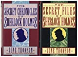 img - for The Secret Chronicles of Sherlock Holmes and The Secret Files of Sherlock Holmes book / textbook / text book