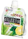 マンナンライフ 大粒アロエクラッシュ蒟蒻畑シークワーサー味150g×6個 ランキングお取り寄せ