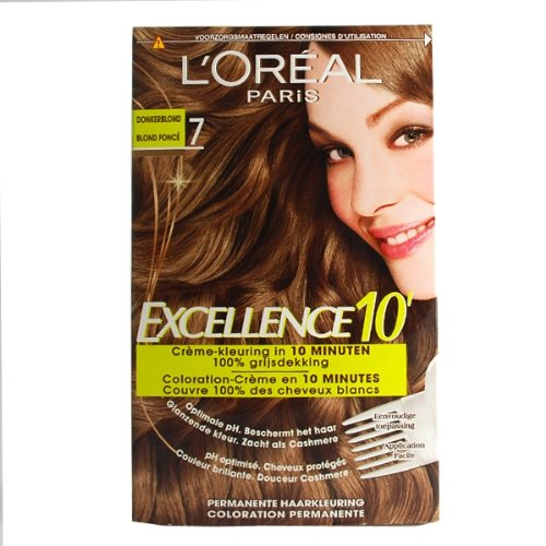 Coloration cheveux loreal 7