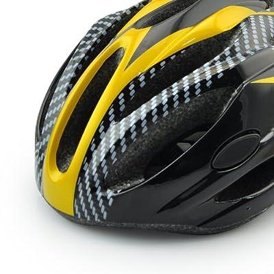 Sport Direct Men's Women's Bicycle Skating Helmet yellow,Size:54cm-60cm by Guanshi