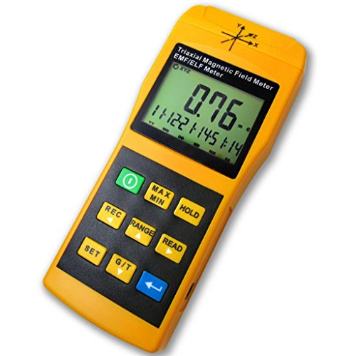 Gauss 3 Axis EMF ELF Magnetic Field 2000mG Meter (Digital Gauss Meter compare prices)