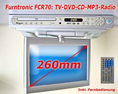 Unterbau TV 26cm mit DVD Player Radio auch 12V | e-Deals